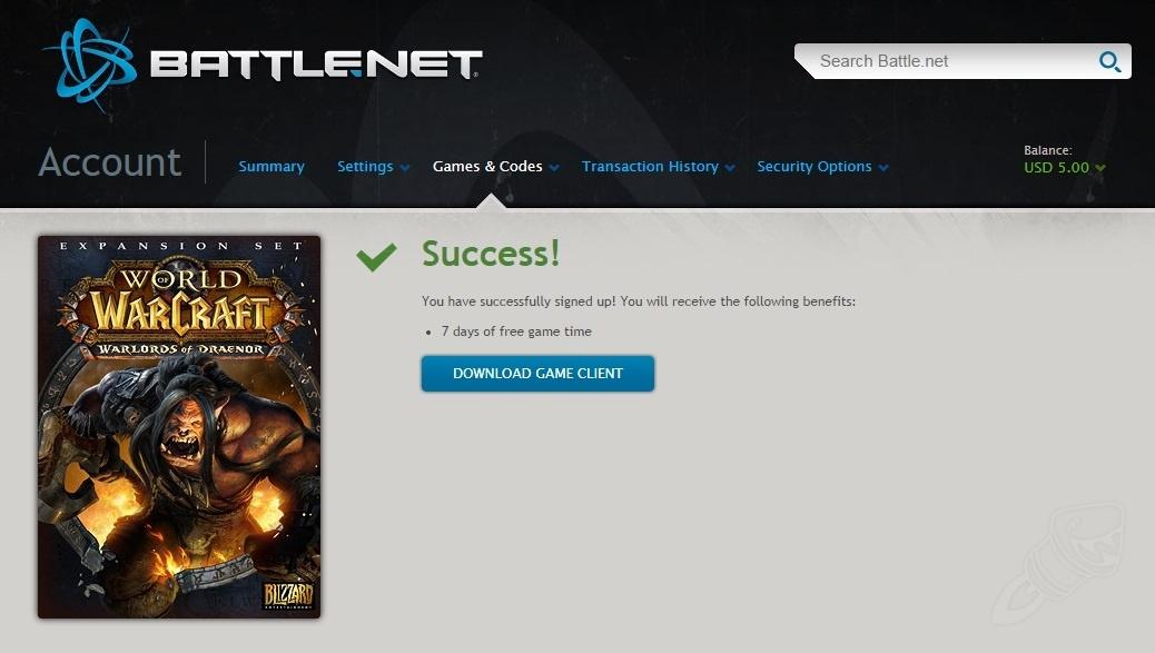 Лицензию World Of Warcraft 3
