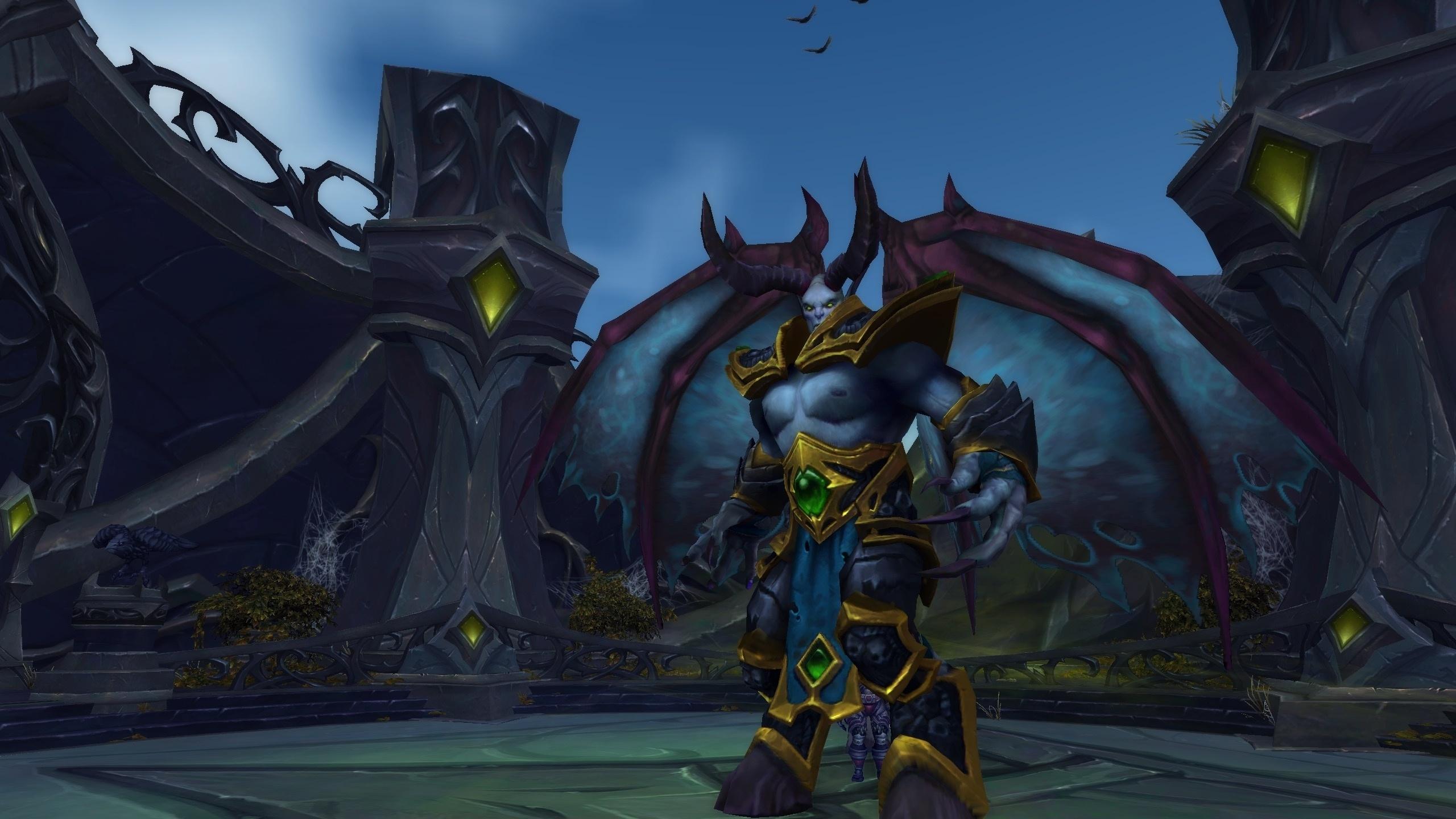 (black rock hold) world of warcraft: legion - слияние душ - иллисанна гребень ворона - хмуродроб лютый