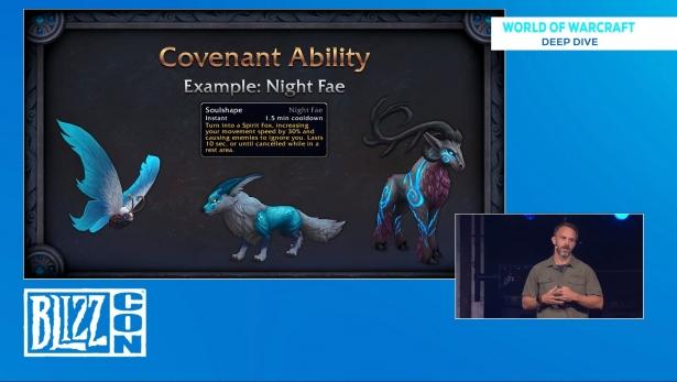 Список форм способности «Облик души» ковенанта ночной народец из Shadowlands