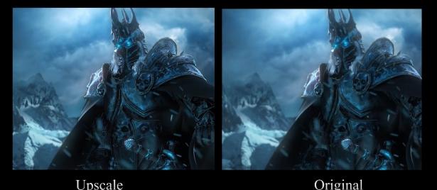 Игрок повысил разрешение вступительного ролика Wrath of the Lich King до 8k