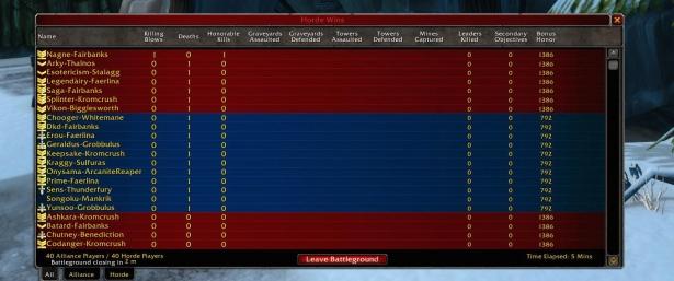 Игроки WoW Classic недовольны Альтеракской долиной