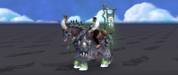 Ездовые животные обновления 8.3: Яростный белый конь погибели