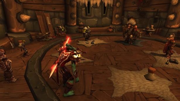 Внутриигровая сцена «Окончание кровавой войны» для Орды