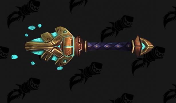 Интересное редкое оружие с атак Н'Зота в обновлении 8.3