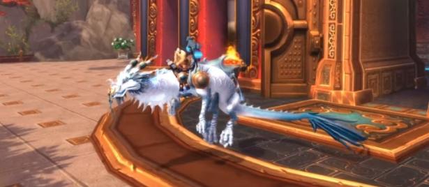 Ездовые животные обновления 8.3: Боевой змей клана Раджани