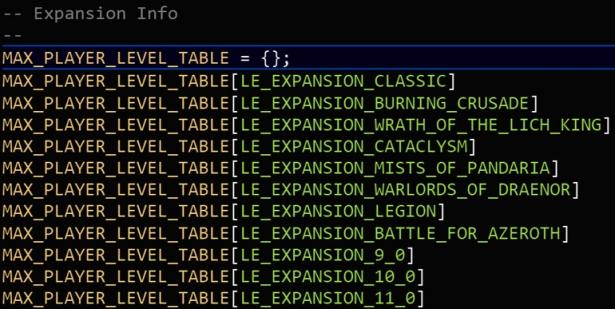 В файлах игры обнаружена заготовка для еще 3 дополнений WoW
