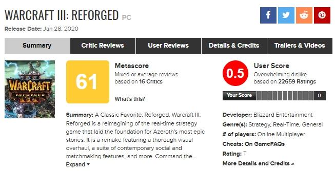 Обращение разработчиков к сообществу Warcraft III: Reforged