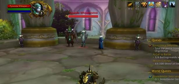 Игрок в одиночку победил Тиранду в Дарнасе