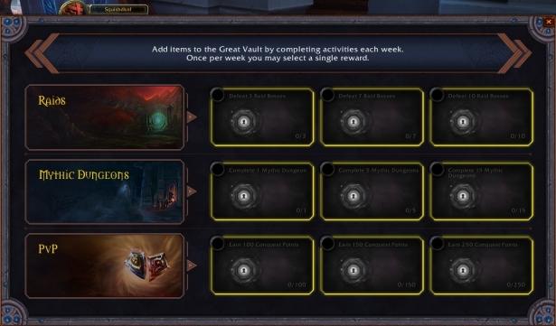 Дополнительные детали о «Великом хранилище» Shadowlands: эпохальные+ подземелья