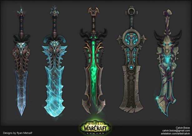В Shadowlands все облики артефактов класса станут доступны для трансмогрификации всем специализациям