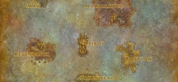 Награды за репутацию с фракциями Темных Земель в Shadowlands