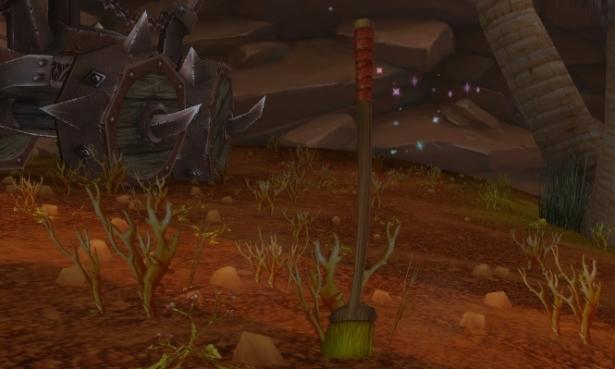 Спасительная метла и Тлетворный упырь за участие в препатче Shadowlands