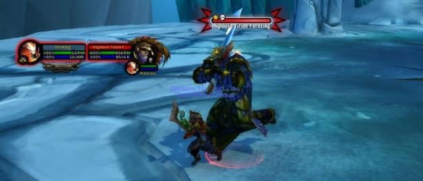 Тирион Фордринг нападает на игроков с Оскверненным Испепелителем в Цитадели Ледяной Короны