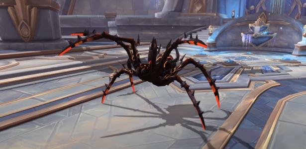 Транспорт за Седло ярости в 1 сезоне Shadowlands – Яростный боевой паук