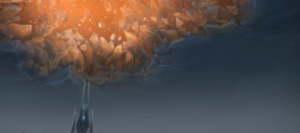 Внутриигровой ролик препатча Shadowlands – «Приход Смерти»